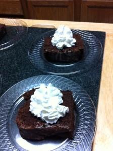 feb 2015 dessert starbucks chocolate cake