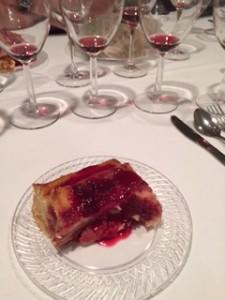 nov 2015 tasting spiced cranberry bread pudding